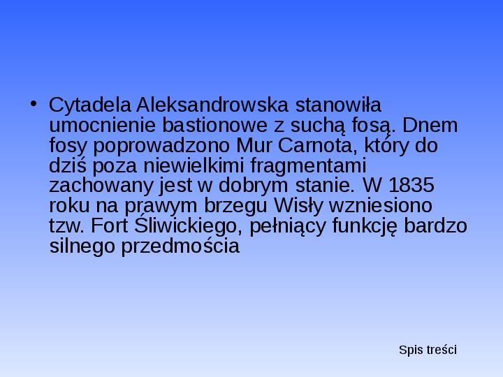Zabytki Warszawy - Slajd 36