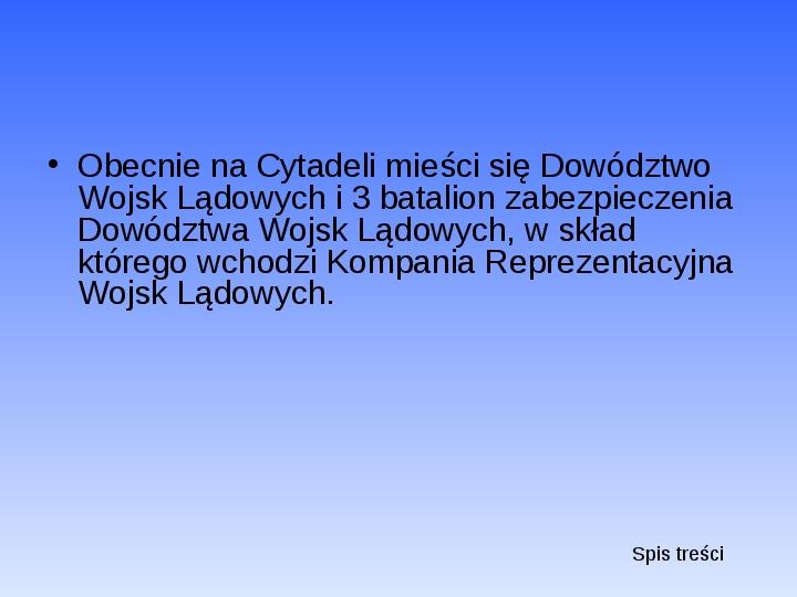 Zabytki Warszawy - Slajd 37