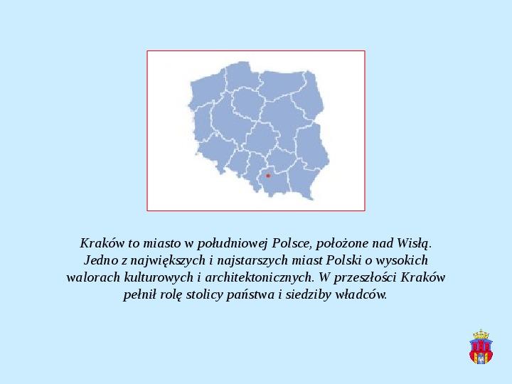 Zabytki Krakowa - Slajd 1