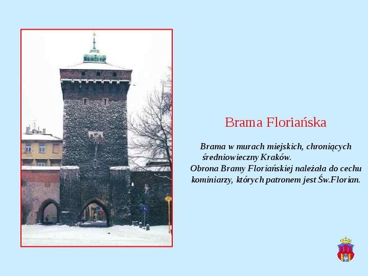 Zabytki Krakowa - Slajd 2