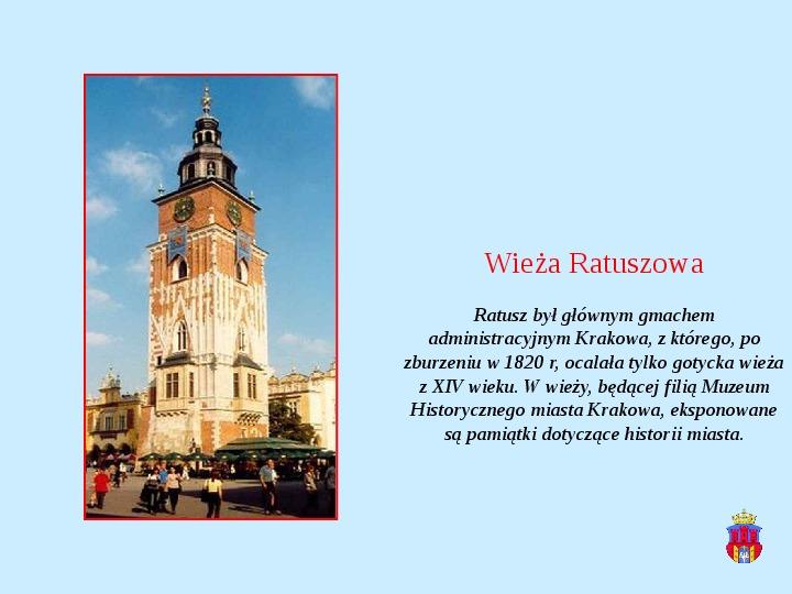 Zabytki Krakowa - Slajd 4