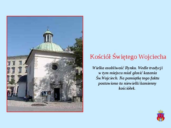 Zabytki Krakowa - Slajd 7