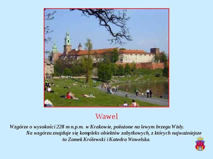 Zabytki Krakowa - Slajd 10
