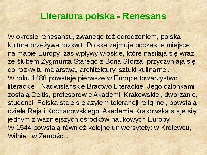Historia Języka Polskiego - Slajd 21