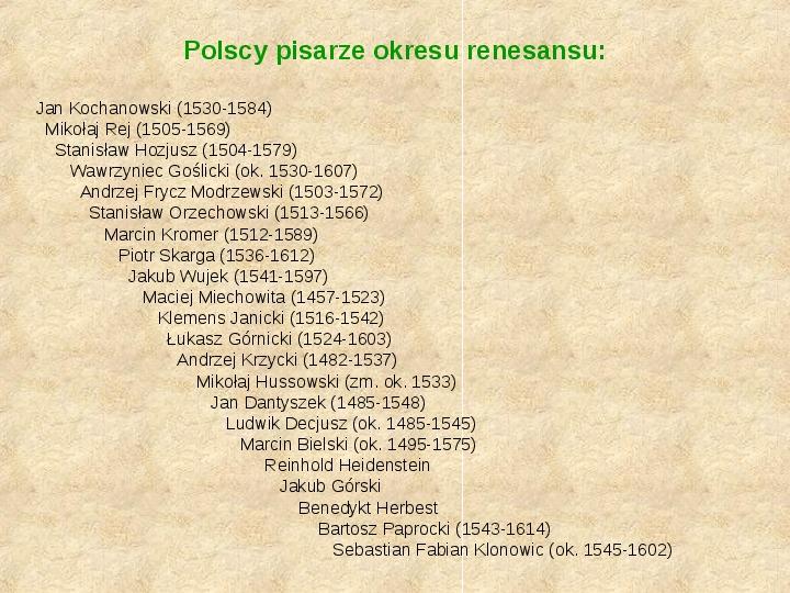 Historia Języka Polskiego - Slajd 22