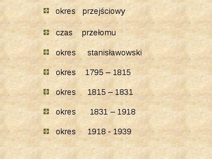 Historia Języka Polskiego - Slajd 34