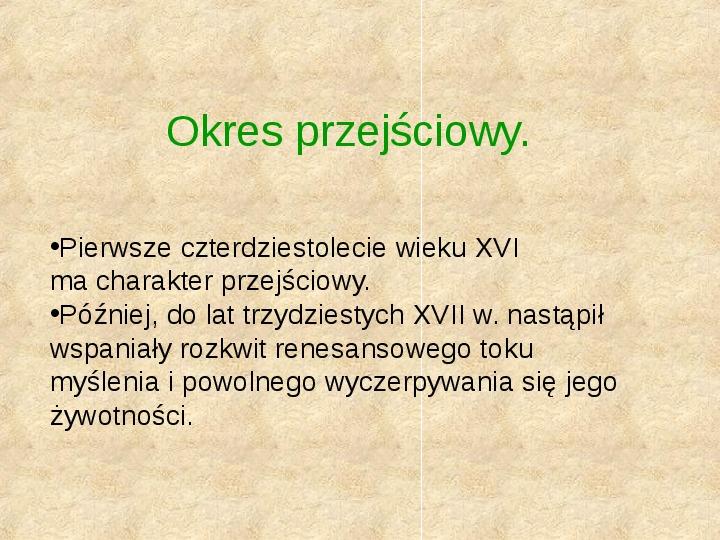 Historia Języka Polskiego - Slajd 35