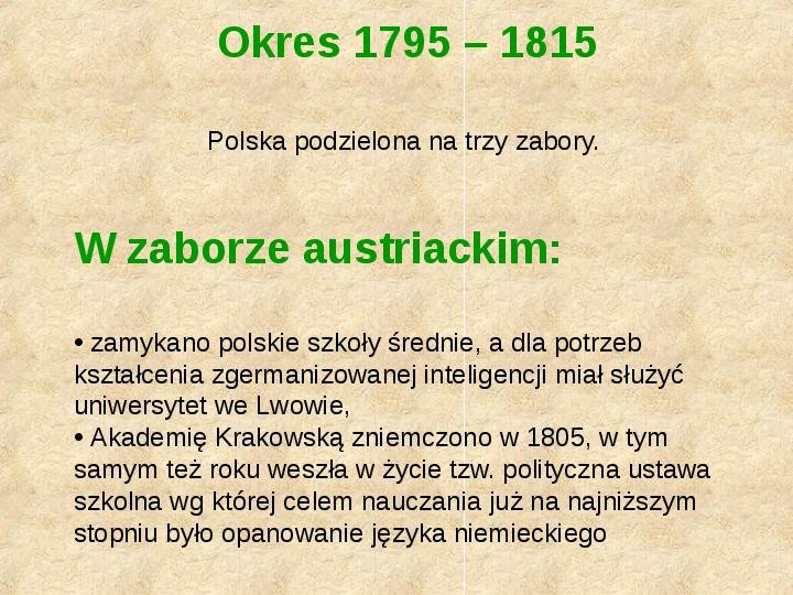 Historia Języka Polskiego - Slajd 39