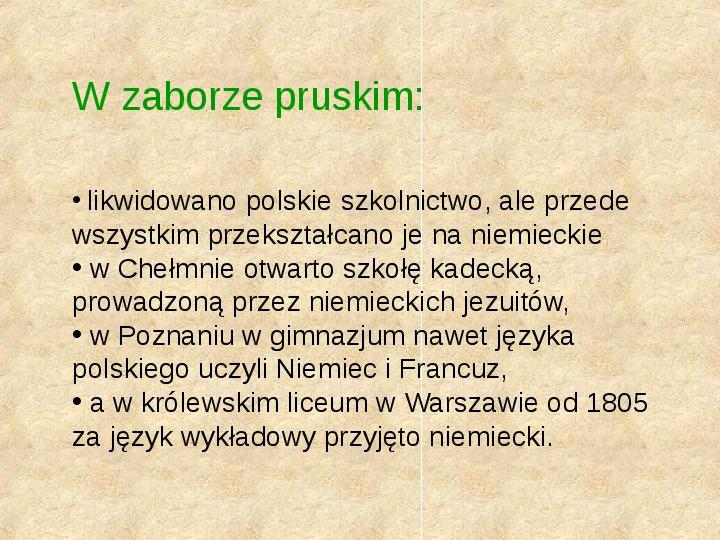 Historia Języka Polskiego - Slajd 40