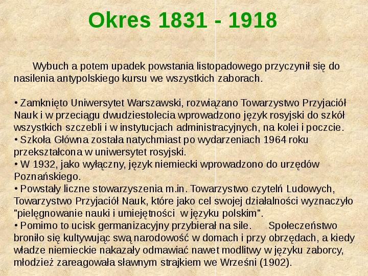 Historia Języka Polskiego - Slajd 43