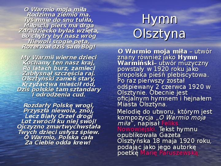 Zabytki Olsztyna - Slajd 3