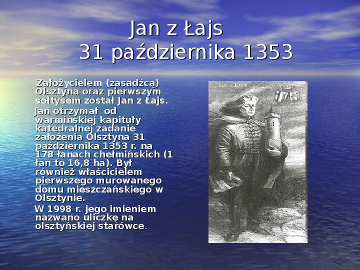 Zabytki Olsztyna - Slajd 4