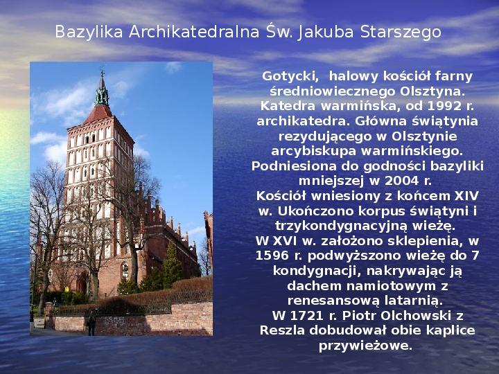 Zabytki Olsztyna - Slajd 5