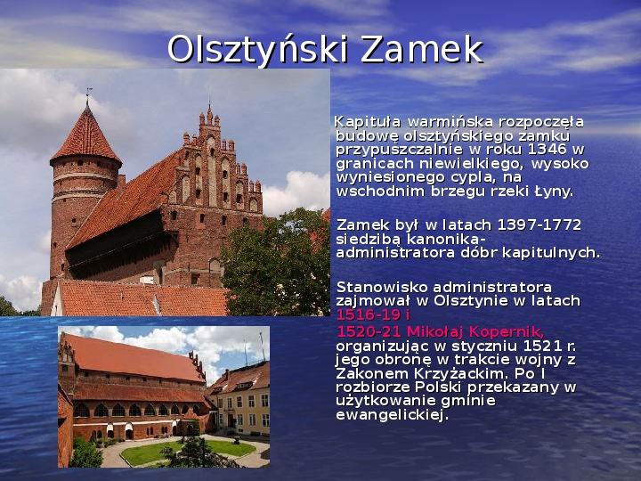 Zabytki Olsztyna - Slajd 6