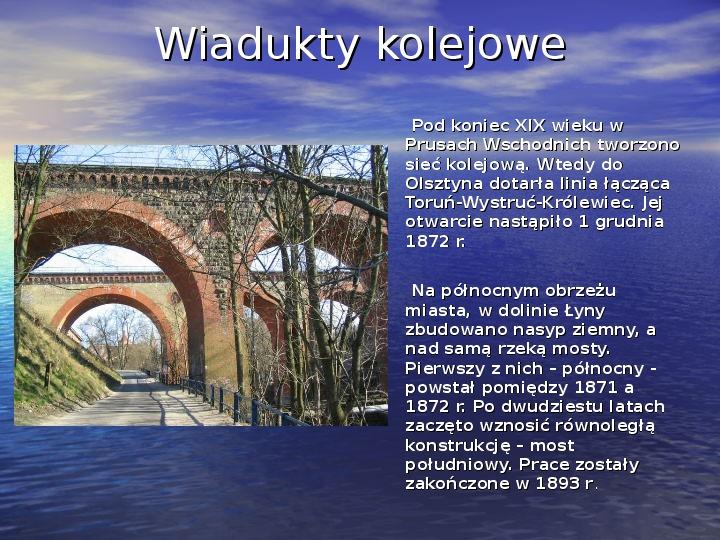 Zabytki Olsztyna - Slajd 11