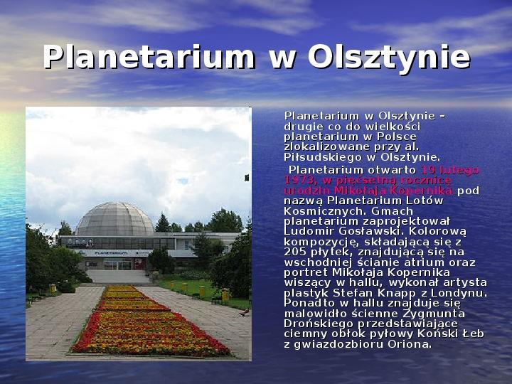 Zabytki Olsztyna - Slajd 16