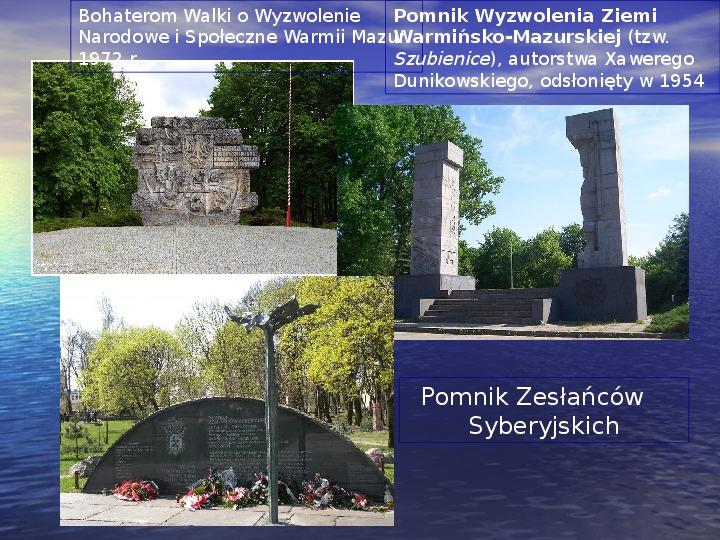 Zabytki Olsztyna - Slajd 20