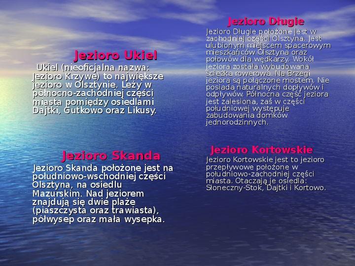 Zabytki Olsztyna - Slajd 21