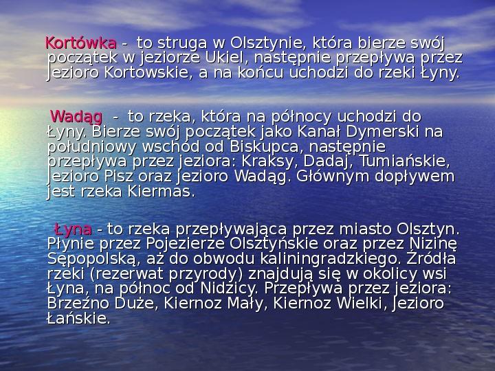 Zabytki Olsztyna - Slajd 22
