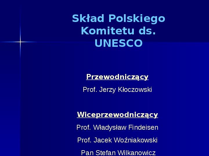 UNESCO - Slajd 6