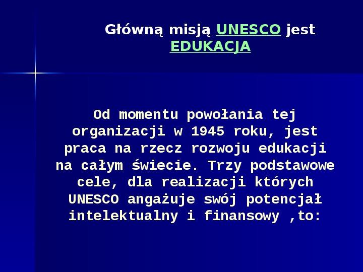 UNESCO - Slajd 19