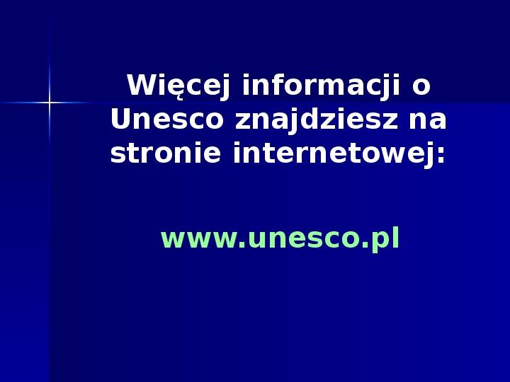 UNESCO - Slajd 22