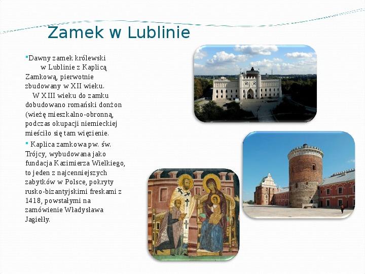 Województwo lubelskie - Slajd 6