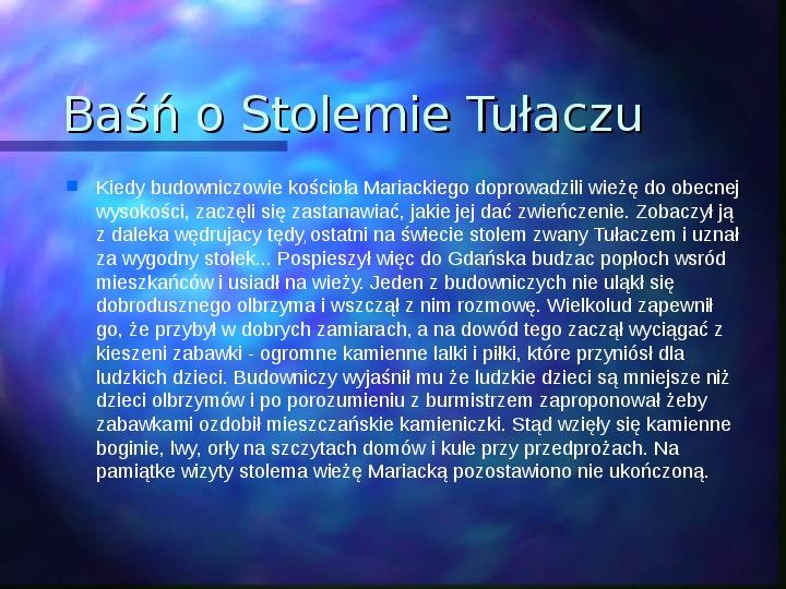 Gdańsk piękne miasto - Slajd 4